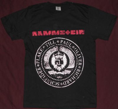 Tricou Rammstein - Stema comunista   ,calitate 180 grame,tricouri rock foto