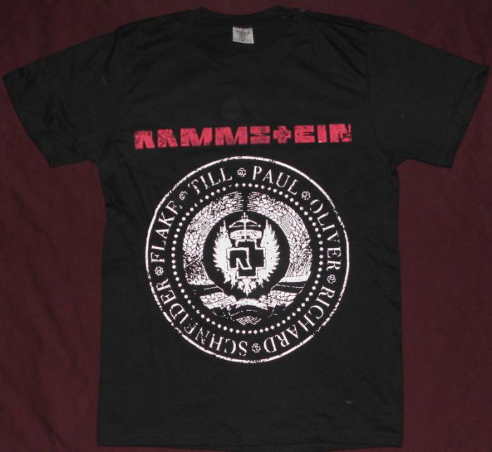 Tricou Rammstein - Stema comunista   ,calitate 180 grame,tricouri rock