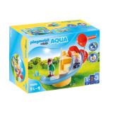 Playmobil 1.2.3 - Tobogan de apa