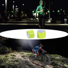 Banda reflectorizanta pentru siguranta, pliabila pe brat sau picior, 3x34 cm