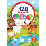 Carte de colorat Girasol - 128 Desene de colorat 2