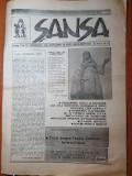 ziarul sansa 1991-presedintele iliescu si basarabia