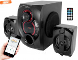 Sistem Audio 2.1 Bluetooth Media-Tech Voltron 2.1 BT, 35W RMS, Port USB, Negru