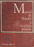 Manual de filozofie si socialism stiintific - clasa a XII-a