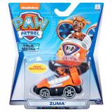 Masinuta cu figurina Paw Patrol True Metal, Zuma 20127218