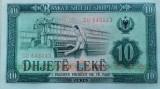 BANCNOTA 10 LEKE 1976-ALBANIA