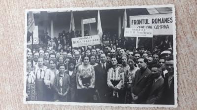 Miting - Campina 1938 foto