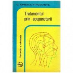 C. Ionescu-Tîrgoviste - Tratamentul prin acupunctură