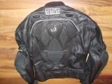 geaca moto piele streetfighter,chopper,viteza,touring,protectii full, 52