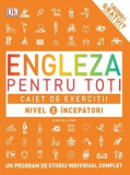 Engleza pentru toti. Caiet de exercitii nivel 2 incepatori/***