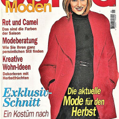 Burda revista de moda insert in limba romana 67 tipare 9/1997  (croitorie)