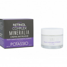Crema antirid reparatoare remineralizanta cu SARURI DE POTASIU Mineralia 50 ml