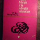 Octav Onicescu - Principes de logique et de philosophie mathematique