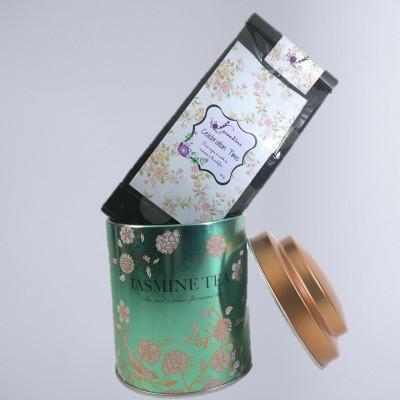 Set cadou 2 produse Ceai 50g si Cutie metalica 100g foto
