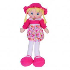 Papusa din material textil My Doll, Roz