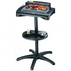 Grill electric Trisa BBQ Classic, 1950 W, grill nonaderent, inaltime 85 cm