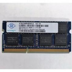 Memorie Laptop Nanya 8GB DDR3 PC3-12800S 1600Mhz 1.5V