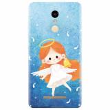 Husa silicon pentru Xiaomi Remdi Note 3, Cute Angel