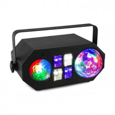 Beamz LEDWAVE LED, Jellyball, 6x3W, RGB, Watrwave 1x4W, RGBW UV / stroboscop 4x3W, negru