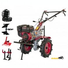 Motocultor WM1100C-6+Roti Metalice+Plug Reversibil+Rarita Reglabila+Prasitoare, 7 CP