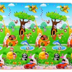 Covor Termoizolant pentru copii 180x180x1 cm MD2 - Happy Trees