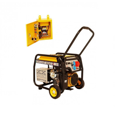 Generator curent electric Stager FD 10000E3+ATS 8.5 Kw foto
