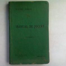 MANUAL DE JOCURI - VIRGIL I. BADULESCU