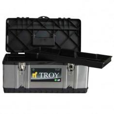 Cumpara ieftin Cutie de scule metalica Troy T91016, 39x17x17 cm