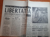 """Ziarul libertatea 15-16 august 1990-art """"improvizatie""""de jazz la costinesti"""