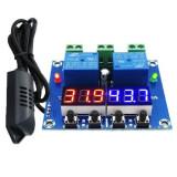 Termostat higrostat electronic digital controler temperatura umiditate 12V DC OKN-GM1019