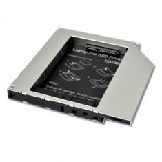 Adaptor HDD/SSD Caddy OEM pentru unitati optice 9.5 mm SATA3