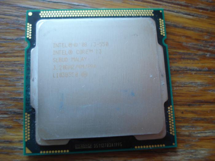 Procesor intel core i3 550 3.2 Ghz 4MB socket 1156