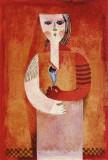 Samuel (Sami) Briss (n.1930) - Ileana / Fata cu Floare, Ex.de Artist