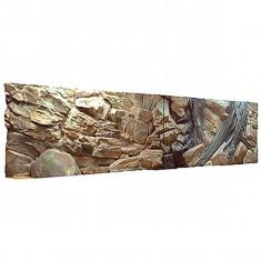 Fundal acvariu 3D 200x50 cm - RĂDĂCINĂ