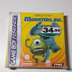 Joc Gameboy Advance Monsters Inc