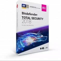 Bitdefender Total Security 2018 1An 5PC Licenta Noua Box
