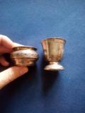 Recipient si paharel argint 950 Franta