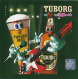 CD  Tuborg Music Collection, original: 3rei Sud Est, N&D, Valahia