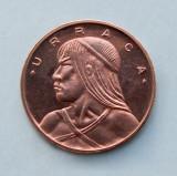 PANAMA - 1 Centésimo 1972 - Chief Urraca - PROOF - aUNC, America Centrala si de Sud, Bronz