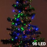 Lumini de Crăciun Multicolore (96 LED)