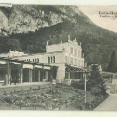 cp Baile Herculane : Casino - 1933, circulata, timbre