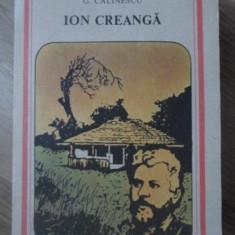 ION CREANGA - G. CALINESCU