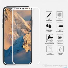 Geam Soc Protector Full LCD 5D Apple iPhone X 5.8 Alb