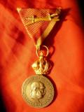 Medalia de Merit Militar Austria Signum Laudis cu sabii, Europa