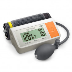 Tensiometru de brat Little Doctor LD 22, manseta 25 - 36 mm, afisaj LCD, Alb/Gri