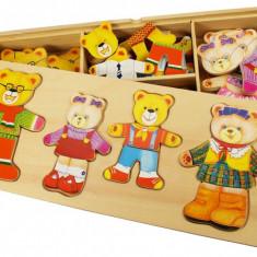 Joc de potrivire - Familia ursuletilor