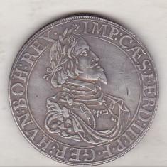 bnk mnd Germania Augsburg 1 Thaler 1645 - REPLICA , alama argintata