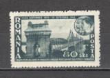 Romania.1945 50 ani Podul de la Cernavoda CR.30, Nestampilat
