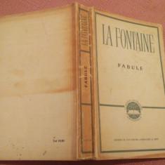 Fabule. Editie ilustrata. E.S.P.L.A. 1958 - La Fontaine