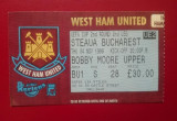 Bilet Fotbal Steaua Bucuresti Romania West Ham United England